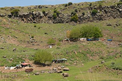 lavabrocken für steingarten